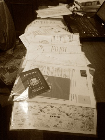 документы в посольство