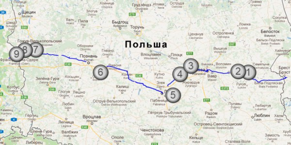 map-of-trip